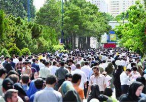 فراگیر شدن کرونا در جامعه ایران