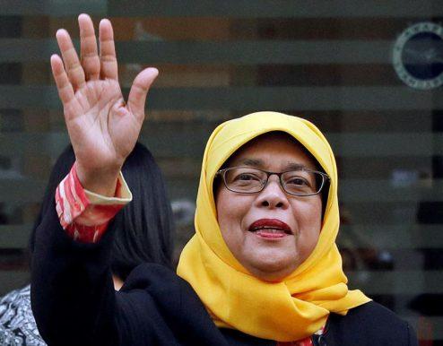 حلیمه یعقوب رئیس جمهور سنگاپور