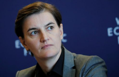 آنا برنابیج نخست وزیر صربستان